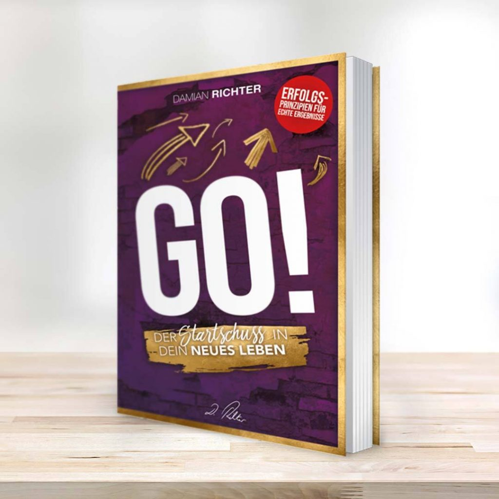 GO! – Der Startschuss in Dein neues Leben (Buch) von Damian Richter