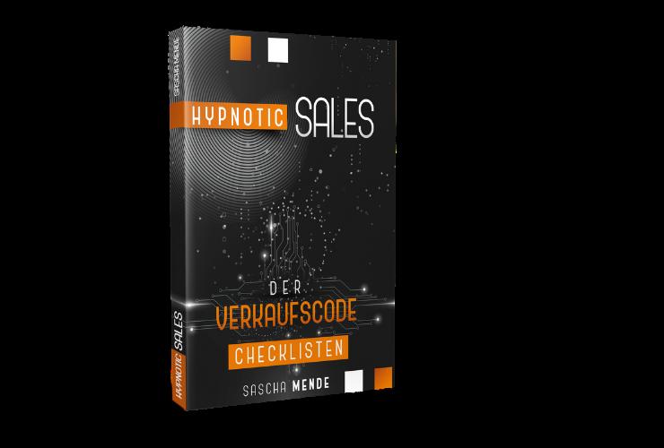 Buch | Hypnotic Sales – 28 Checklisten der Verkaufspsychologie